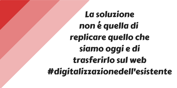 Michele Vianello digitalizzazione dell'esistente