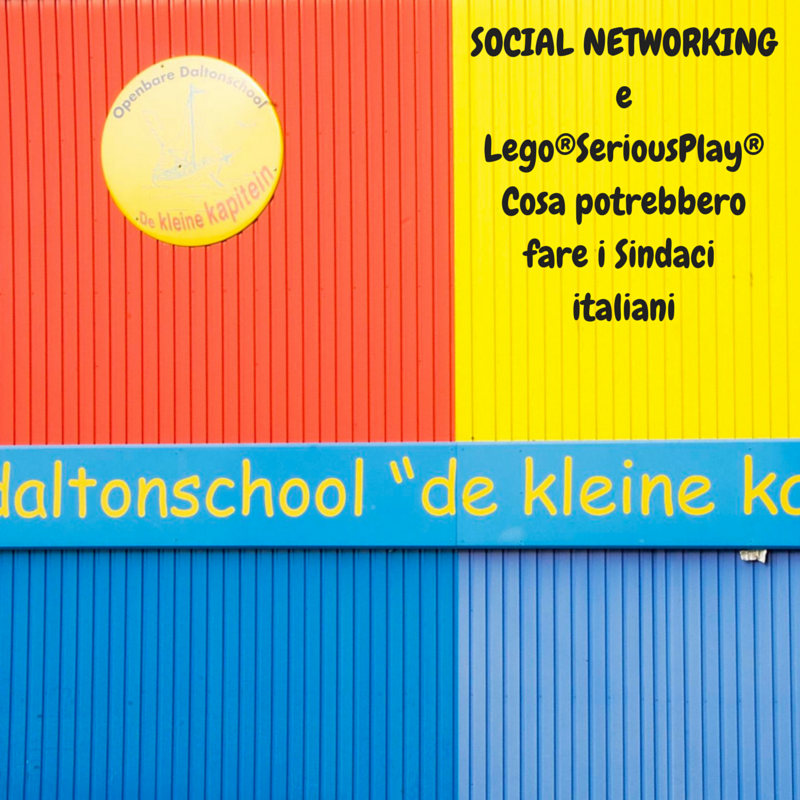 Michele Vianello social networking Lego Serious Play