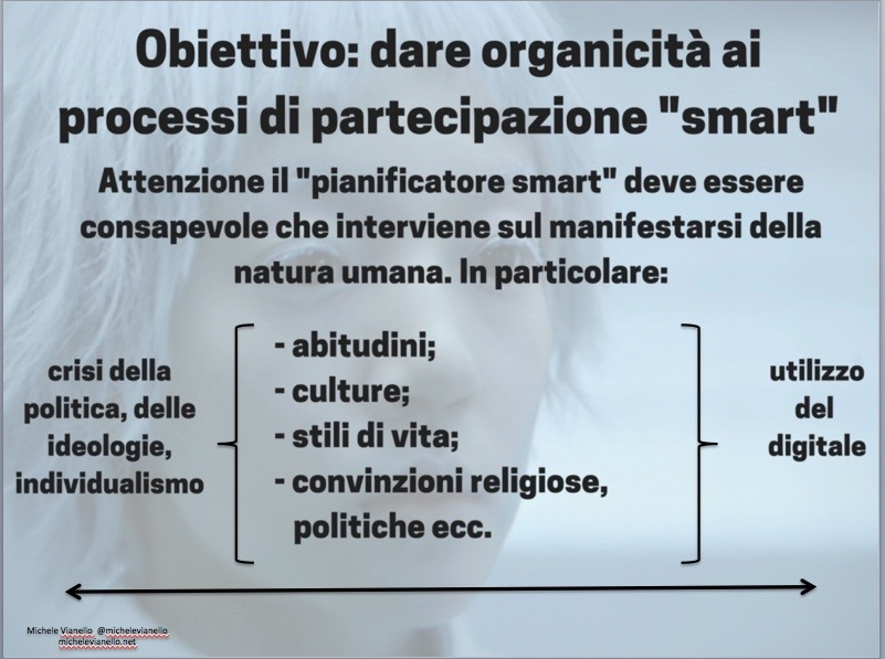 Michele Vianello + smart + partecipazione + citizen + smart city