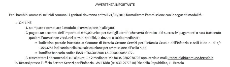 Brescia + Michele + Vianello + AGID + siti