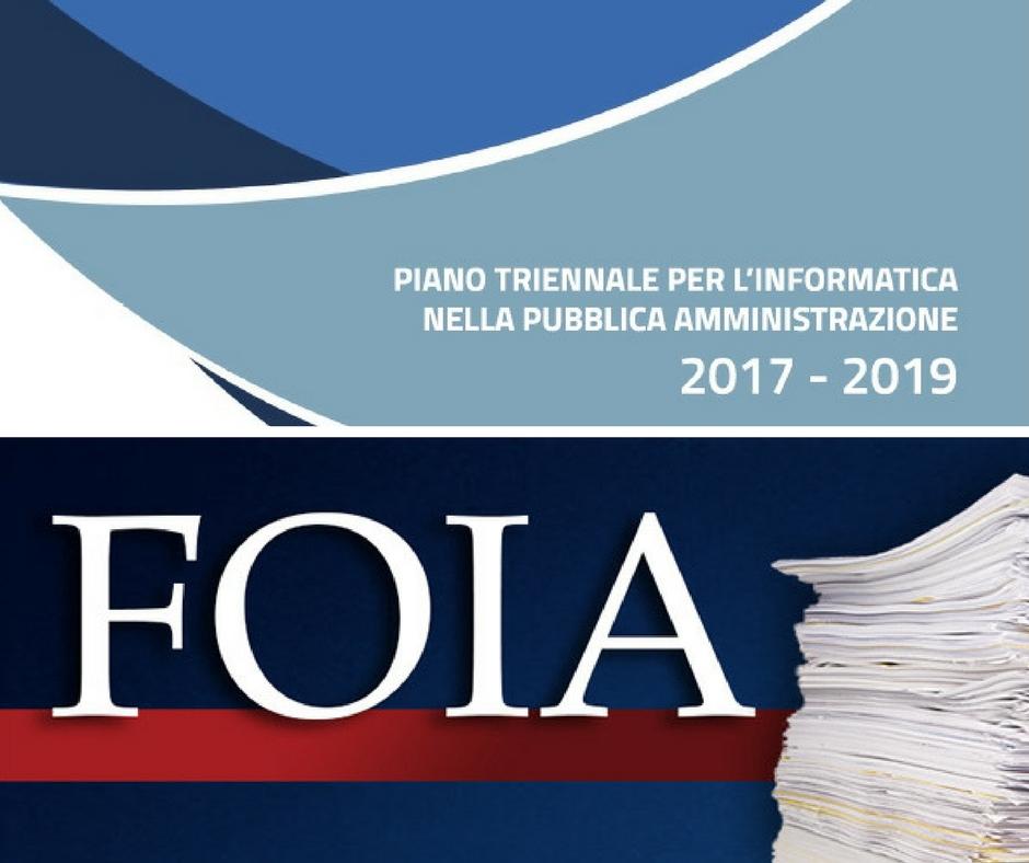 Michele + Vianello + FOIA + piano + triennale + digitalizzazione